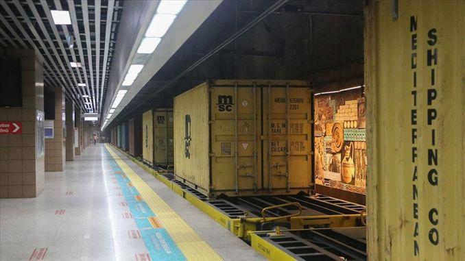 marmaray became the heart of intercontinental cargo transportation