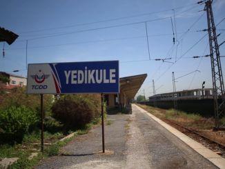 σιδηροδρομική γραμμή προαστιακού sirkeci yedikule που παρέμεινε αδρανής με την έναρξη λειτουργίας της μαρμαρίδας