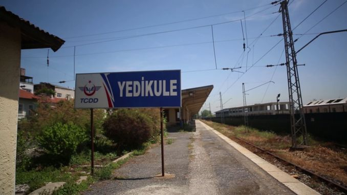 Sirkeci Yedikule suburban train line, which remained idle with the commissioning of Marmaray