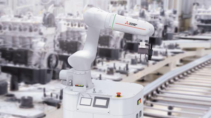 Mitsubishi adds soul to electric robots