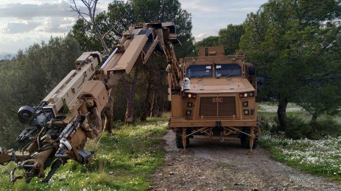 eksplosive køretøjer leveret til landstyrkekommandoen