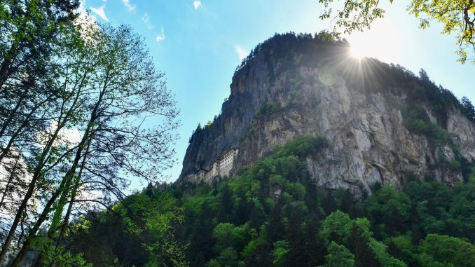 Sumela monastery and altindere valley await visitors