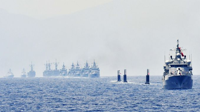 Turkish Navy broke all-time sailing time record