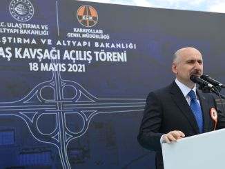 Die Brückenkreuzung der türkischen Luftfahrt- und Raumfahrtindustrie wurde in Betrieb genommen