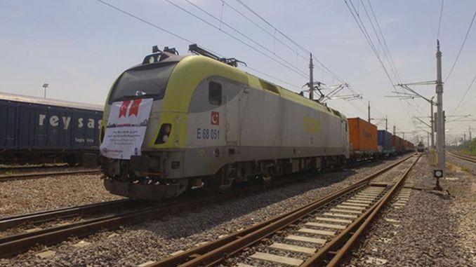 غادرت قطارات كتلة التصدير السينمائية من تركيا من قوجه ايلي
