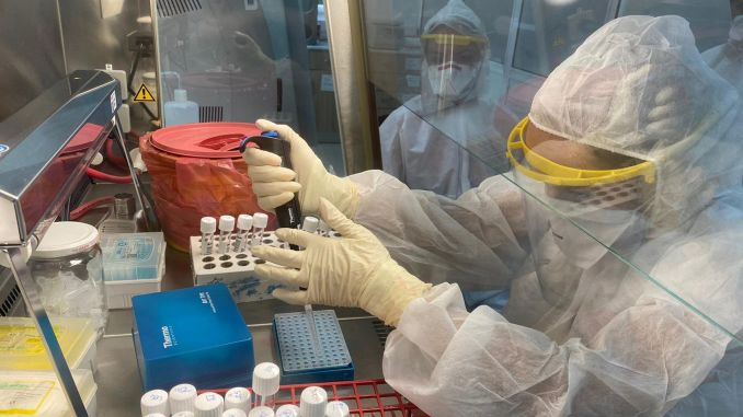 Near East University announces the results of the sars cov genome project