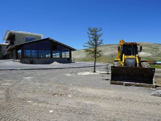 Spring cleaning at Yedikuyular ski resort