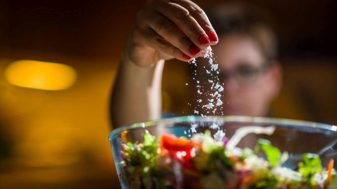 Not adding salt to meals alone is not enough