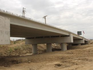 renovation works for the new meander bridge have been completed in percent