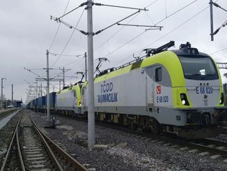 In the first month of the year, the railways marked the cargo transportation
