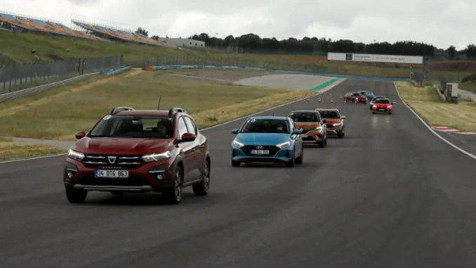 Test drives in the car of the year competition