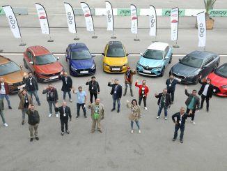 Essais routiers au concours automobile de l'année