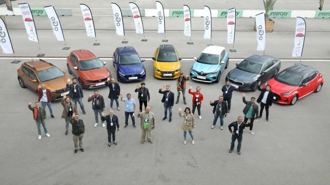 Test drives in the automobile competition of the year