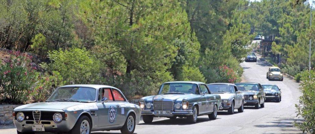Turkish Classic Car Championship will be held in Bodrum