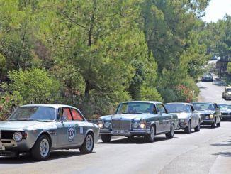 Türkische Oldtimer-Meisterschaft findet in Bodrum statt
