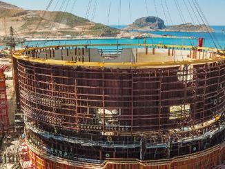 Gedung Reaktor Unit Mutiara PLTN Akkuyu Mengangkat Meteran Dalam Satu Hari
