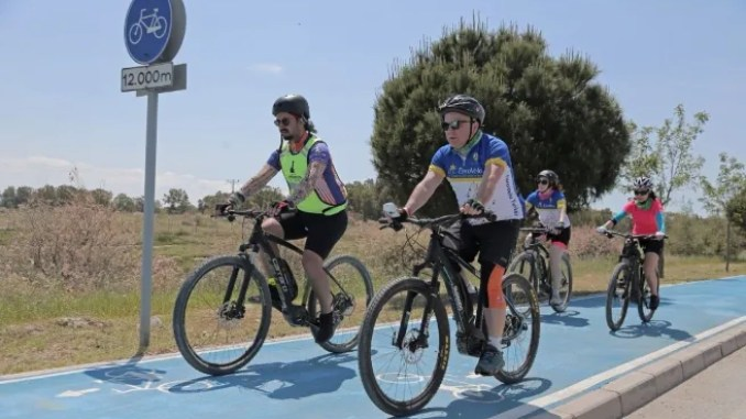 Award to the bike paths project
