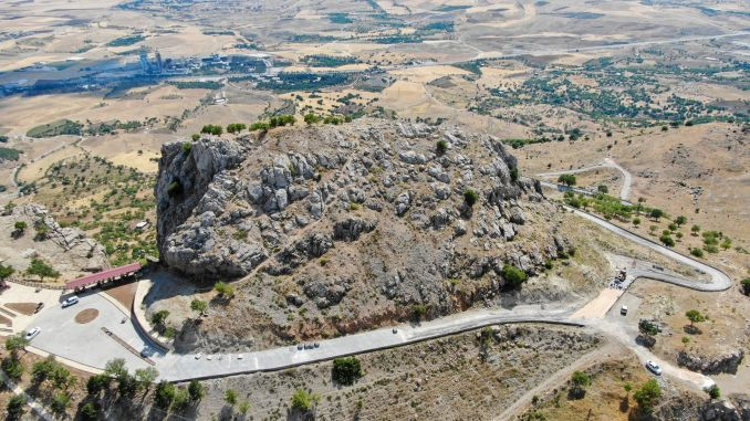 The Authority, which has an important place in faith tourism, the roads of the mountain are being renewed