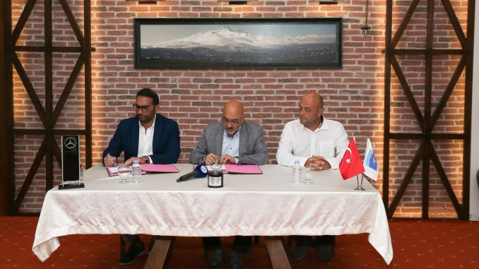 Mercedes Becomes the Main Supporter of the International Erciyes Mountain Marathon