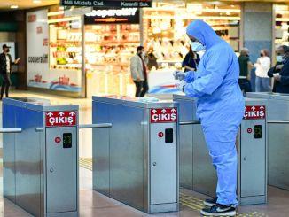 Η δοκιμή υγιεινής πραγματοποιήθηκε στο μετρό της Άγκυρας