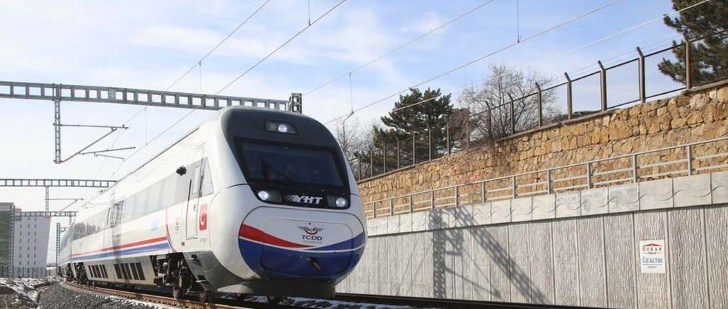 The opening date was given once a year for the ankara sivas YHT line
