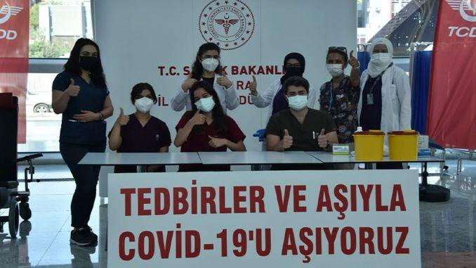 بدأ إنتاج لقاح كوفيد في أنقرة yht garrida