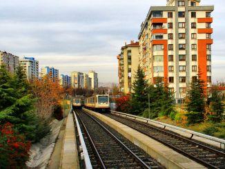 บริการรถบัส รถไฟใต้ดิน และอังการาในอังการาได้รับการจัดระเบียบใหม่