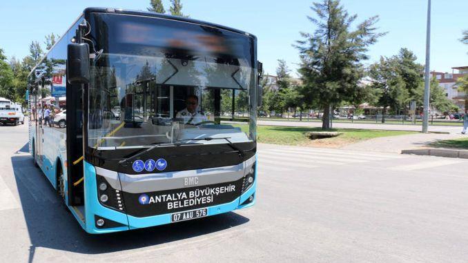 new lines in antalya public transportation