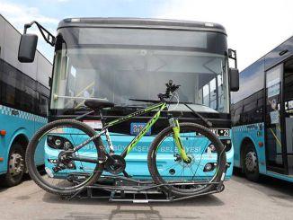 sensor applikation til busser med cykelbærende apparater i antalya