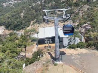 Babadag-Seilbahn wird den Tourismus in Fethiye ankurbeln