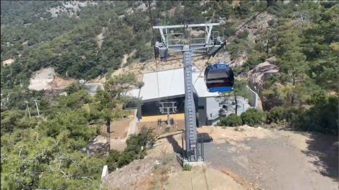 Kereta gantung Babadag akan meningkatkan pariwisata Fethiye