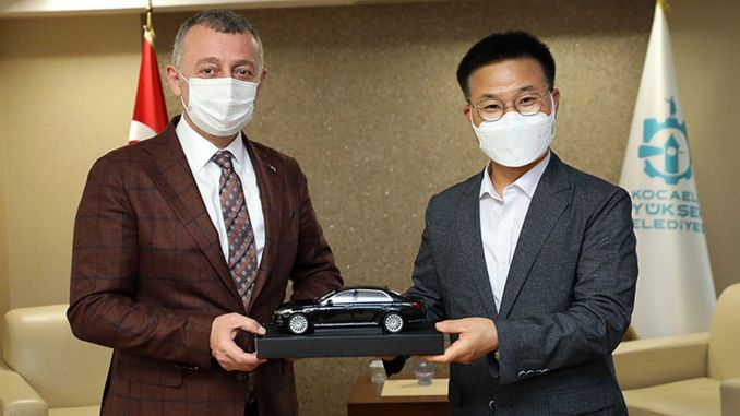 the president talked to hyundai about my master's project