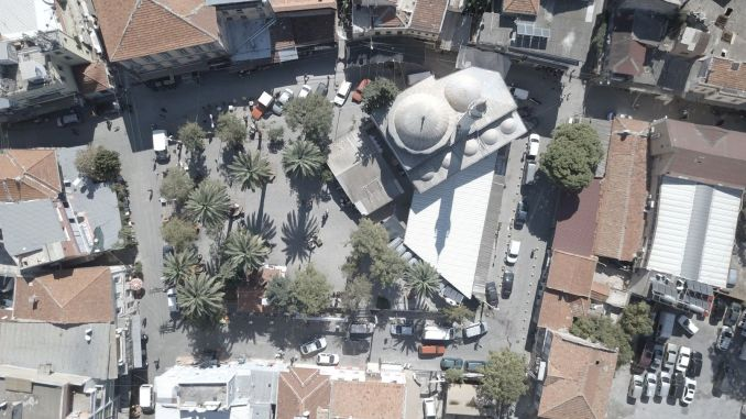 Hatuniye Square, the heart of basmane, will be the center of attraction of the region