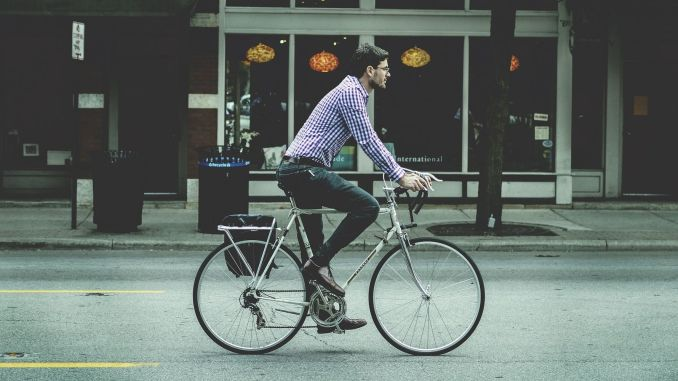 What should you pay attention to when riding a bike?