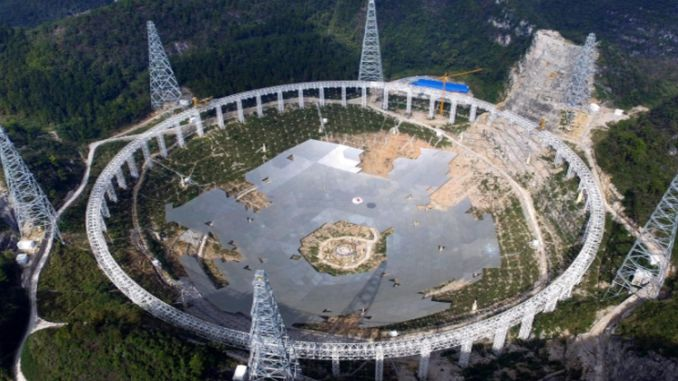 Chinese scientists study solar wind using giant telescope