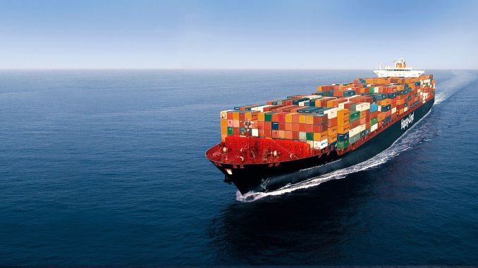 What is happening in sea container transportation