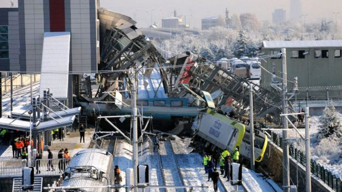 former tcdd general manager ankara yht accident happened through human error