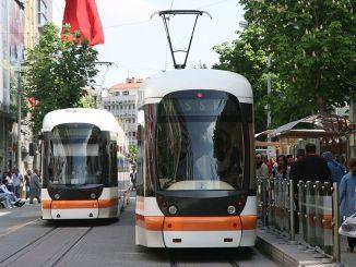lgs-Arrangement für Straßenbahn- und Busverbindungen in Eskisehir