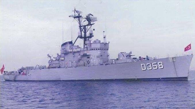 أول سفينة حربية محلية لنا ، tcg berk