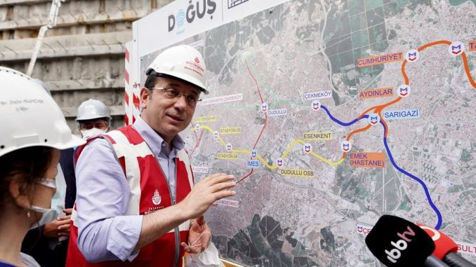 Ibb stopped the metro line from imamoglu in response to the allegations