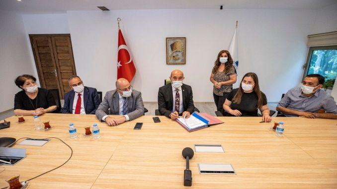 Percent increase for civil servants in izmir metropolitan municipality