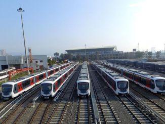 Als Ergebnis der Ausschreibung für Lagereinrichtungen für U-Bahn-Wagen in Izmir