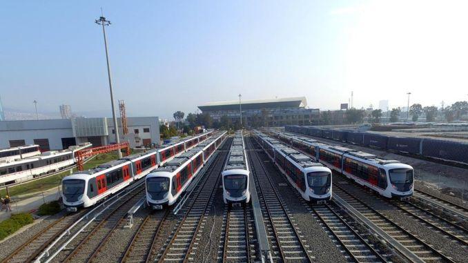 izmir metro vagonlari depolama tesisleri ihalesi sonucu