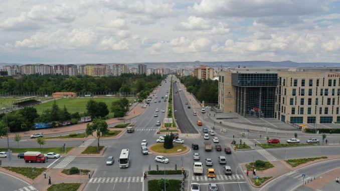 million-dollar asphalt investment in kayseri erkilet boulevard