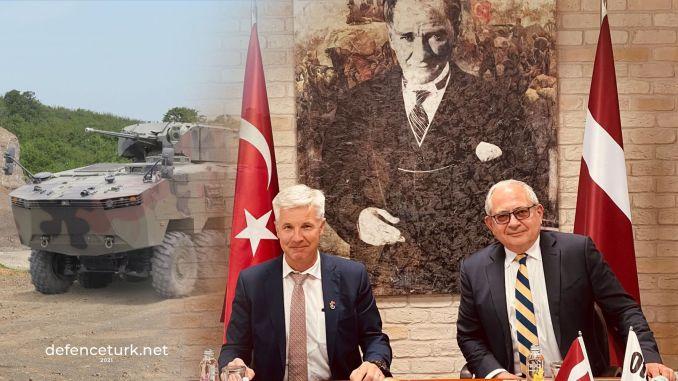 ラトビアのアーティス・パブリクス国防相がオトカリを訪問