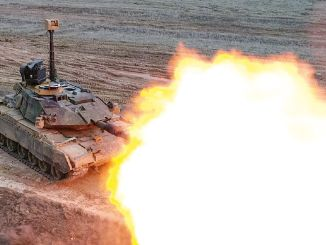 m tm タンク用の Volkan 火器管制システム