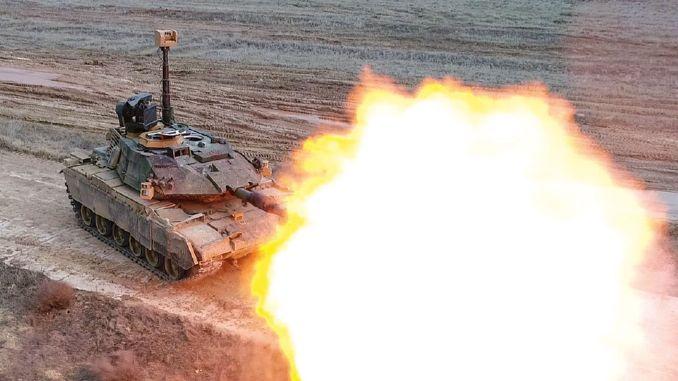 Volkan fire control system for m tm tanks