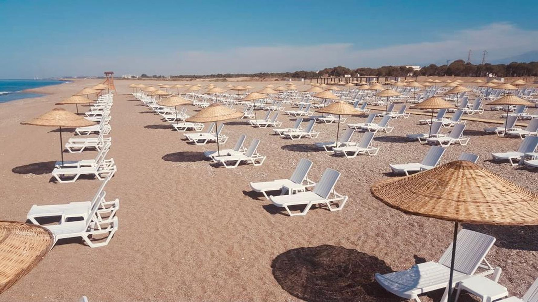 manavgat free public beach and recreation area opened for service