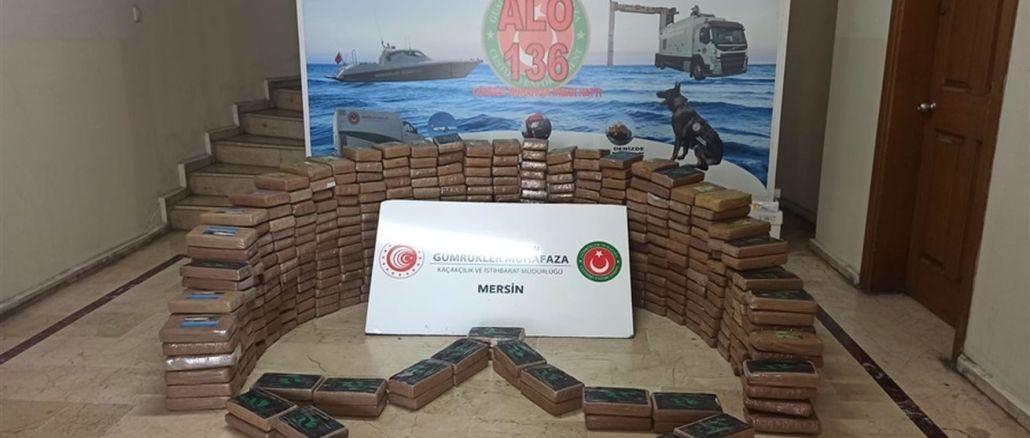 Kilogramm Kokain im Hafen von Mersin beschlagnahmt