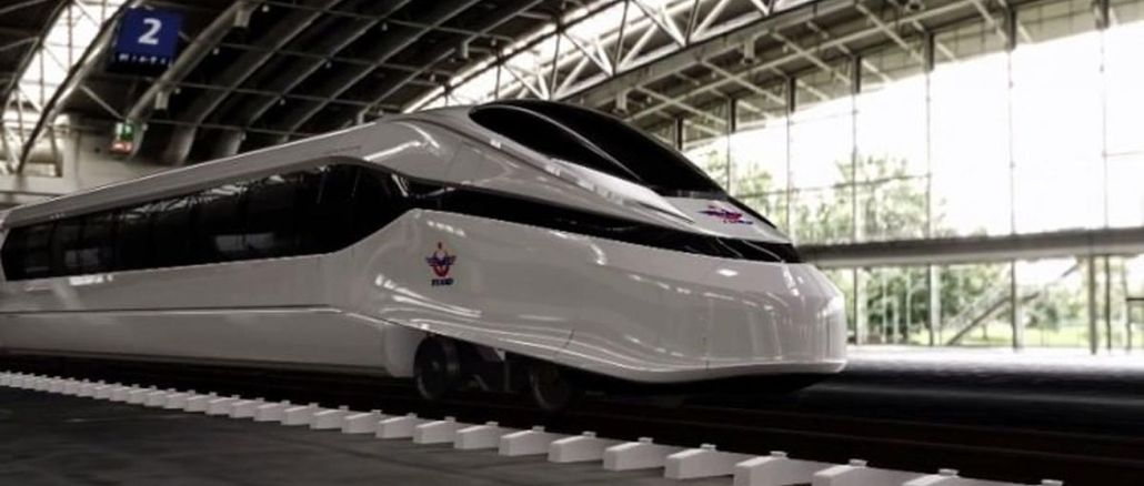 The design process continues in the national electric high-speed train project